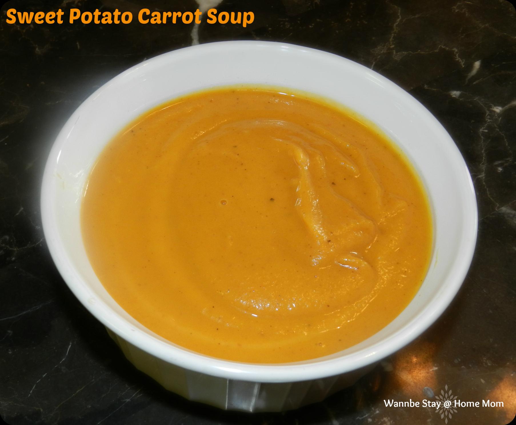 Sweet Potato Soup Recipe — Dishmaps